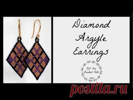 Diamond Argyle Earrings