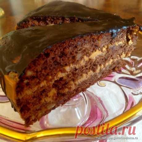 """Непревзойдённый торт """"Каро"""" с черносливом и орехами"""