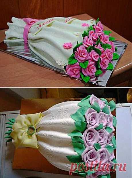 Торт Букет цветов » Рецепты приготовления