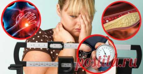 Последствия избыточного веса, которые сказываются на вашем здоровье - Счастливые заметки
