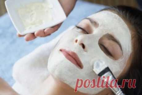 Крахмал лучше ботокса — уникальная маска для зрелой кожи