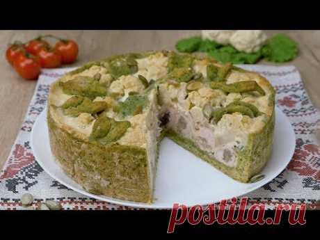 Как приготовить пирог с курицей и шпинатом - Рецепты от Со Вкусом