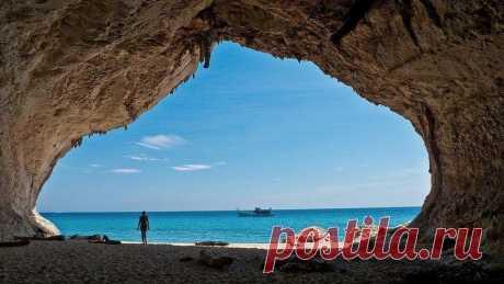 Пляж Кала Луна, Сардиния, Италия