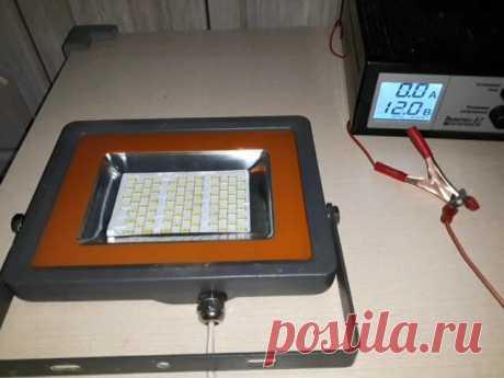 Прожектор на 12 вольт из 220 вольт. | AvtoTechLife | Яндекс Дзен