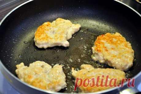 Под заголовком: «Быстро — просто — вкусно»! Куриные оладушки — Вкусные рецепты