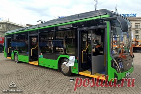 Электробусы нового поколения E321 «Ольгерд» вышли на маршруты Минска — Kovsh.dp.ua