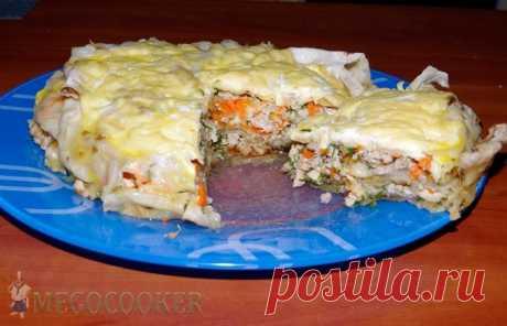Ачма с мясом из лаваша в мультиварке, фото рецепт — MEGOCOOKER