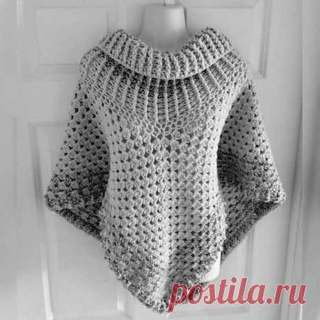 Красивое филейное вязание