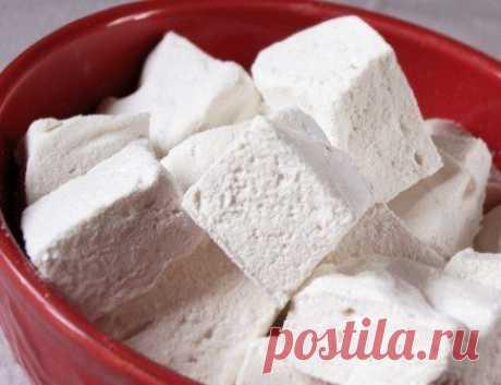 Домашнее маршмеллоу без сахара