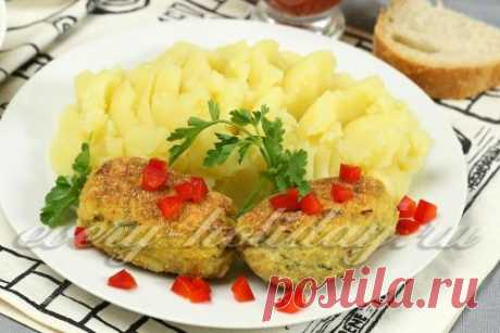 Fish forcemeat cutlets: the recipe with a photo