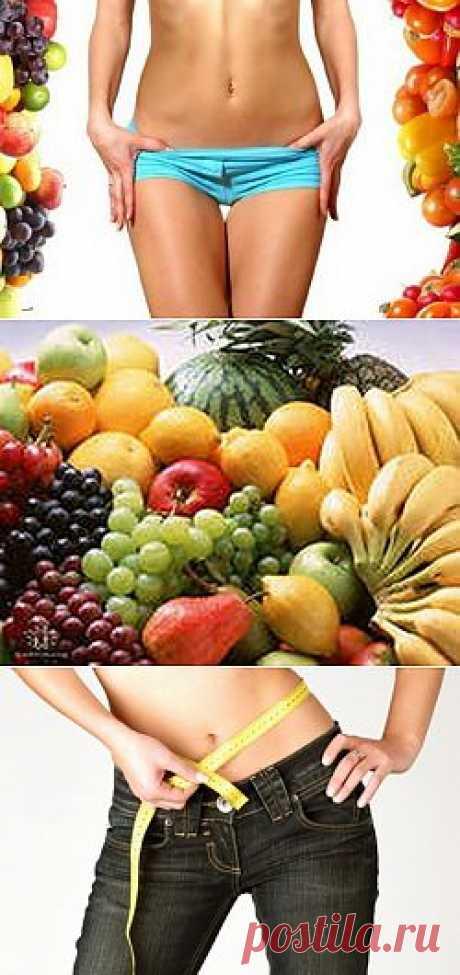 Диета для похудения живота / Все для женщины