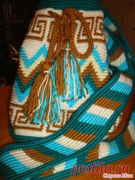 . The Colombian bag wetted - Knitting - the Country of Mothers