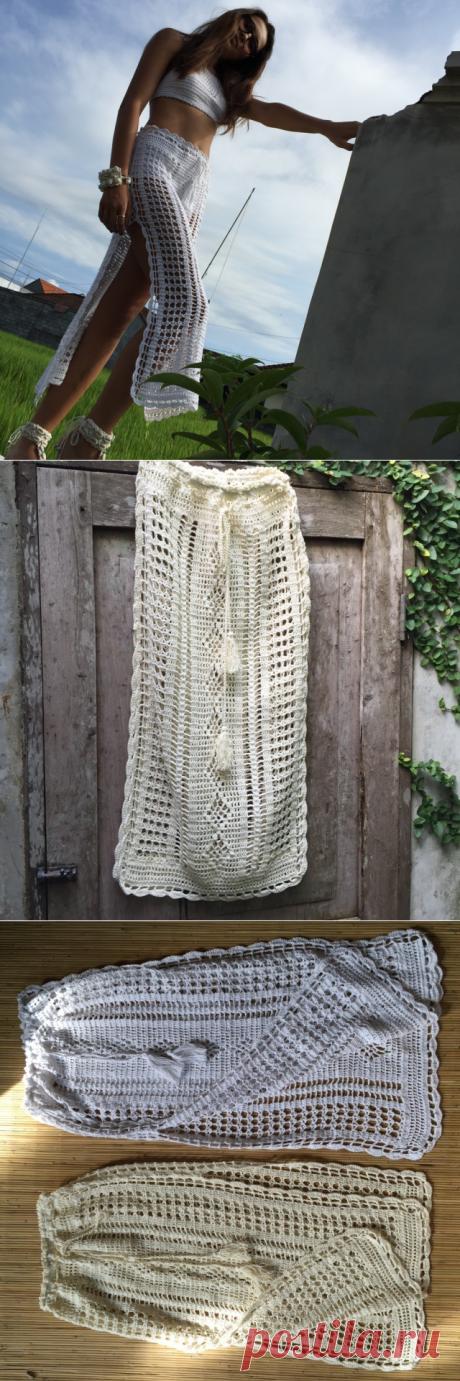 Isabella high splits maxi skirt / andi bagus