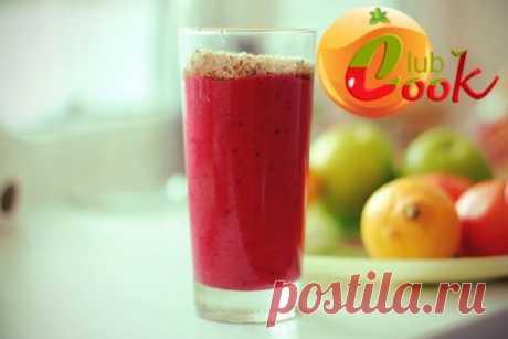 Утренний фруктовый смузи