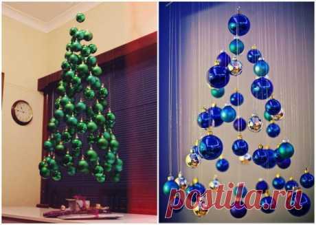 Запись на стене Идеи для творческой новогодней ёлки 🌲