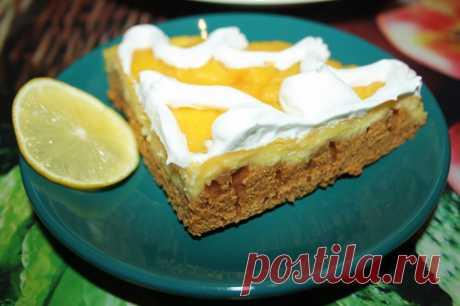 Медовый пирог с творожно-лимонной начинкой - пошаговый рецепт с фото - как приготовить, ингредиенты, состав, время приготовления - Леди Mail.Ru