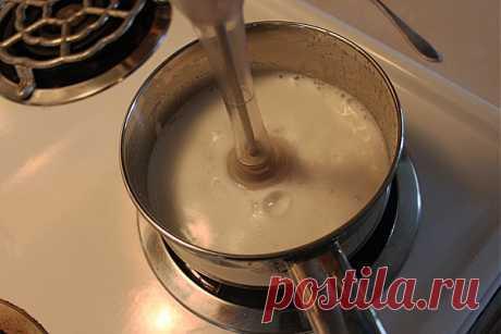 Рецепт Классический кофе латте без кофемашины с фото в домашних условиях