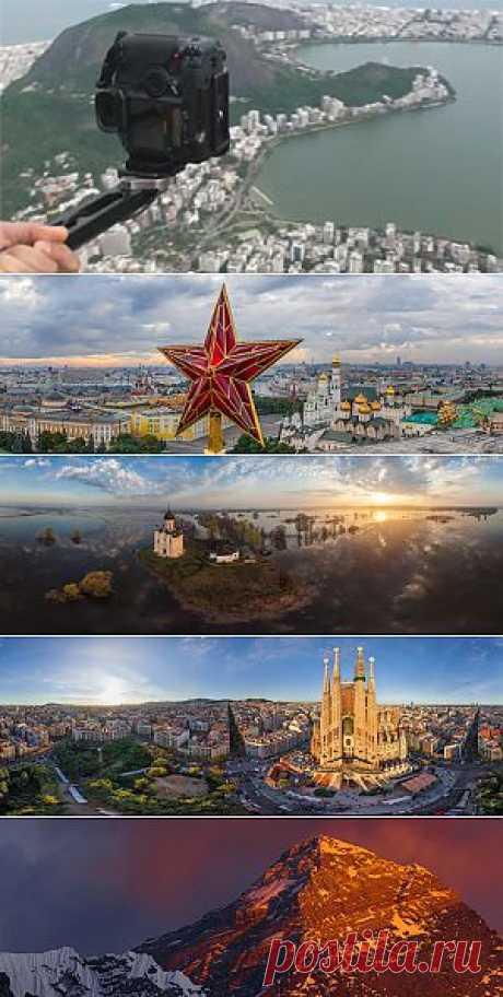 Сферические стерео панорамы 3D • 360° Аэрофотопанорамы..