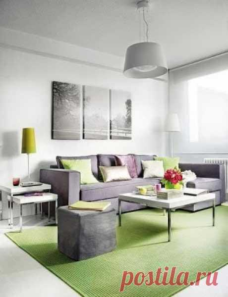 Стильная перепланировка двухкомнатной квартиры | Роскошь и уют