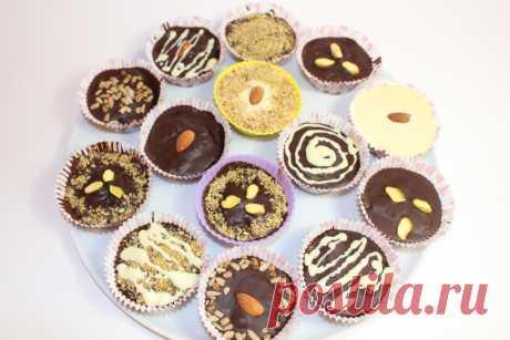 Шоколадные сладости (конфеты домашние)