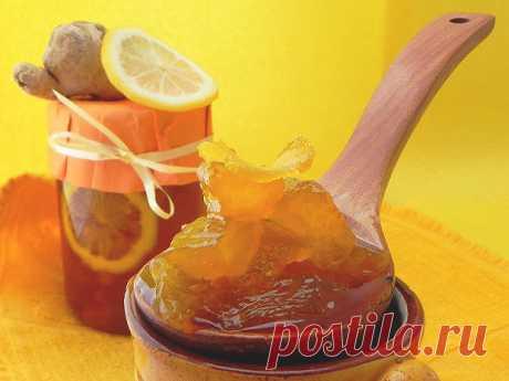 Имбирное варенье — рецепт от зимних болячек | Печем и варим