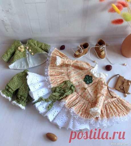 Комплект одежды для куклы | Домашние мелочи своми руками