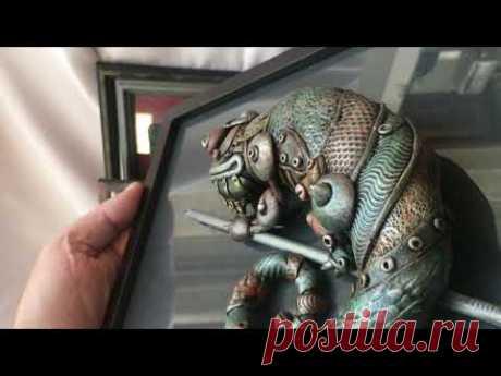 Полимерная глина - картины своими руками