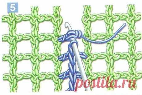 Соединительные швы в вязании крючком - ХаниХобби