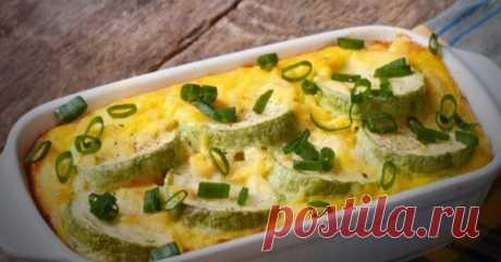 Кабачки запеченные с сыром и йогуртом — это то, что вы ищете!