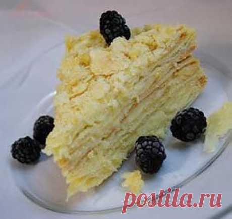 Торт Наполеон с кремом Пломбир. Рецепт c фото, мы подскажем, как приготовить!