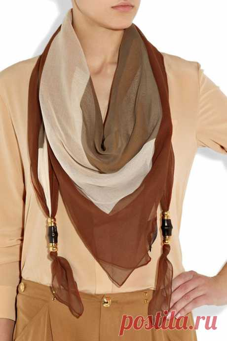 Custom Scarves with embellishments