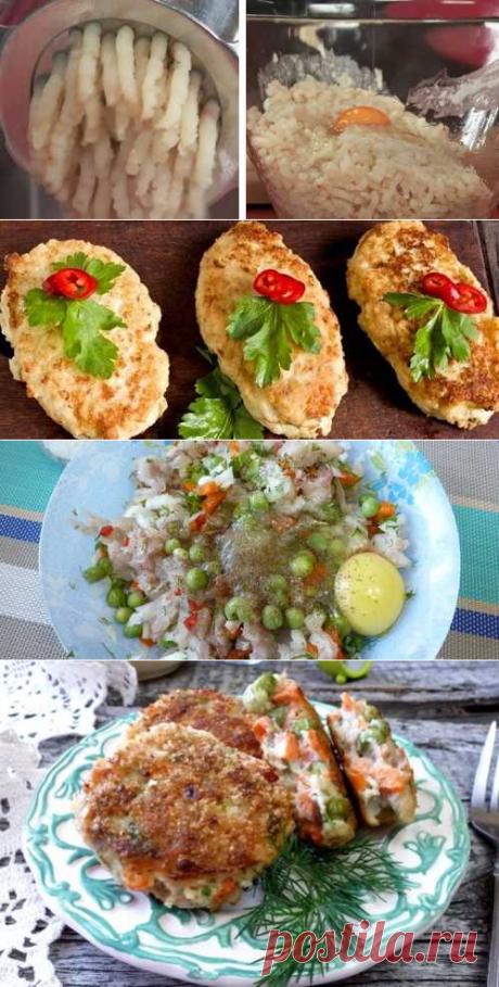 Рыбные котлеты из минтая: ТОП-4 очень вкусных рецепта