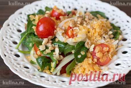 Салат с чечевицей – рецепт приготовления с фото от Kulina.Ru