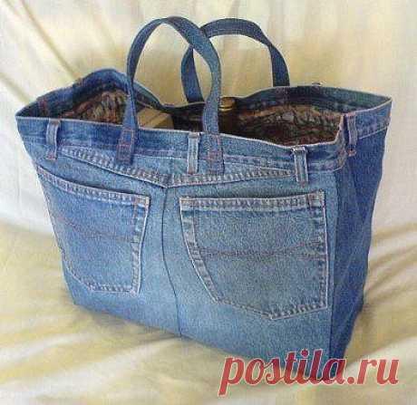 Переделываем старые джинсы: варианты / Как сэкономить