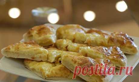 Ленивые хачапури кулинарный рецепт приготовления с фото