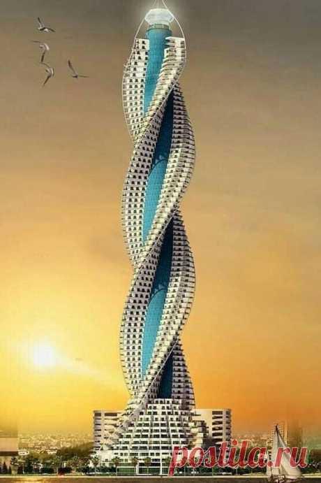 ШЕДЕВР АРХИТЕКТУРЫ !!! Алмазная башня Джидде . Саудовская Аравия 🇸🇦  Высота небоскреба более 1 км . (В нем размещены офисы , рестораны апартаменты , библиотека )