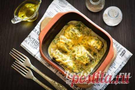 Минтай в сметане в духовке: рецепт пошагово с фото, без моркови | Простые рецепты с фото