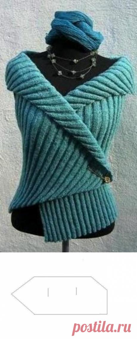 El chaleco simple sin costura por la goma
