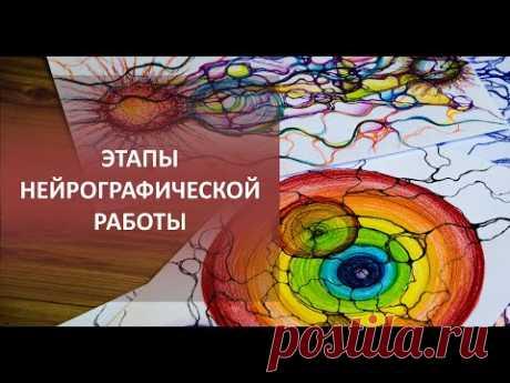 Разные этапы нейрографических работ