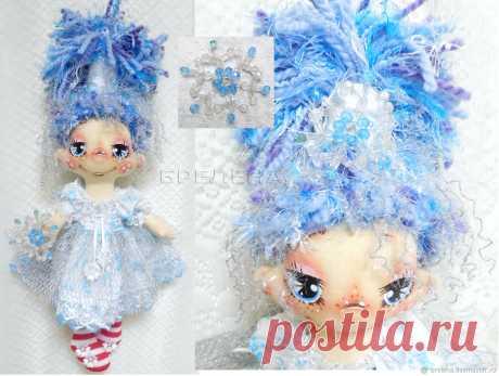 Текстильная кукла Снежка-зимняя феечка. Кукла текстильная интерьерная – купить на Ярмарке Мастеров – KAU9ORU   Куклы и пупсы, Месягутово