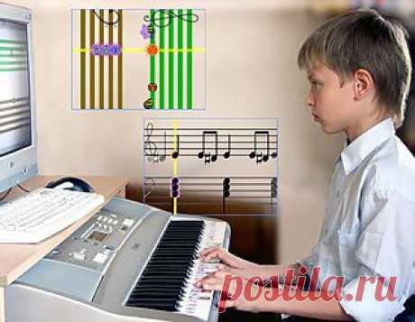 GammaSoft | Легкое обучение музыке. Если Вы хотите научить ваших детей играть на музыкальных инструментах ИГРАЯ (!!!), - Вам сюда!