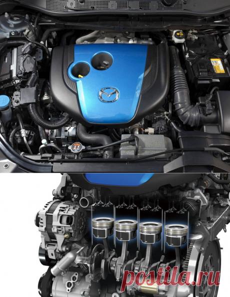 Mazda готовится выпустить бензиновые двигатели нового поколения в 2017 году