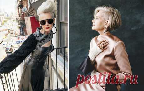 The 63-year-old teacher was taken on the street for a style icon \u000a\u000a\u000a63-year-old Lin Slater.\u000aSometimes it is possible just to appear in the right place in due time - and already all life changed and began to shine new opportunities. Quite so there was also with 63-year-old Lin Slater, a cat …