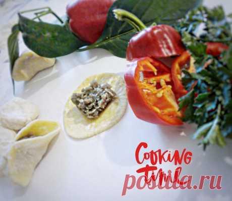 Пельмени с болгарским перцем и петрушкой - Простые рецепты Овкусе.ру