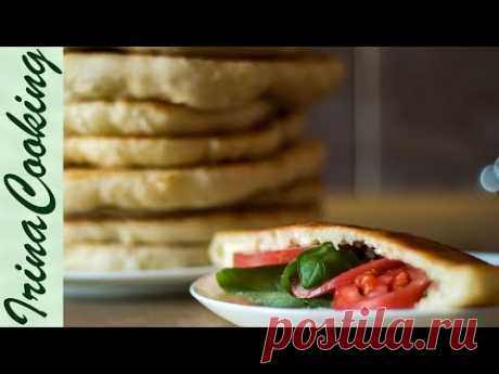 Tasty FLAT CAKES ON the FRYING PAN | Yeast Flat Cakes - YouTube