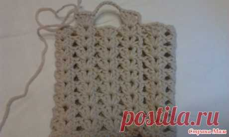 Mitts openwork knitted a hook - we Knit together online - the Country of Mothers