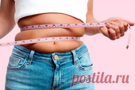 Как убрать висцеральный жир / Будьте здоровы