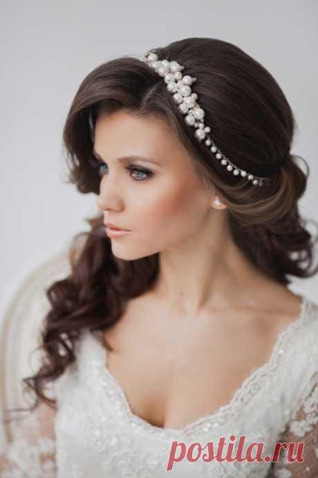Свадебные прически на средние волосы — 90 фото милых и элегантных укладок «