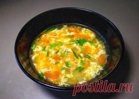 (4) Яичный суп - пошаговый рецепт с фото. Автор рецепта Готовить просто . - Cookpad