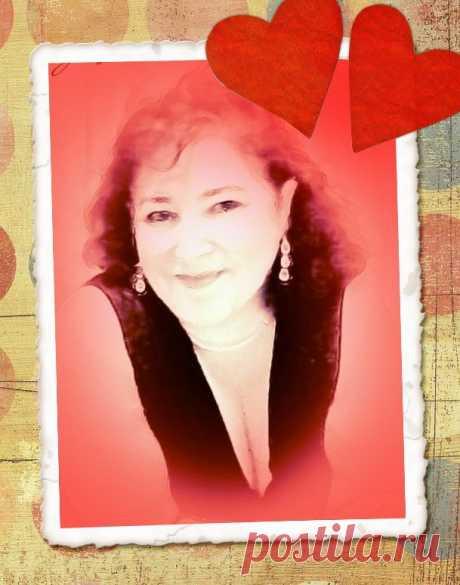 Tarjeta de amor con tu foto, tono rojo y dos corazones. - fotoefectos.com